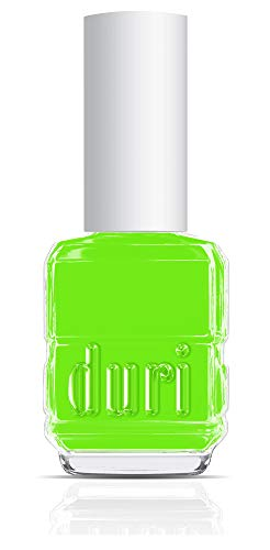 duri Nail Polish, 646N NYC Apply Envy, Lime Neon Green, Matte, 0.5 fl.oz