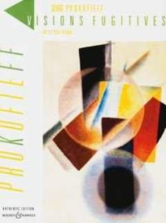 VISIONS FUGITIVES OP 22 - arrangiert für Klavier [Noten / Sheetmusic] Komponist: PROKOFIEFF SERGEI