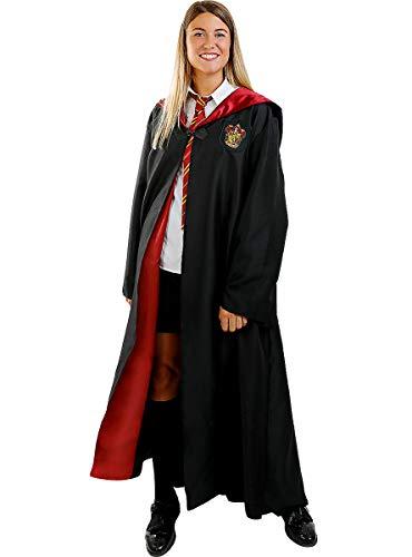 Funidelia   Disfraz Harry Potter Oficial para Hombre y Mujer Talla M ▶ Hogwarts, Magos, Películas & Series - Color: Negro - Licencia: 100% Oficial - Divertidos Disfraces y complementos