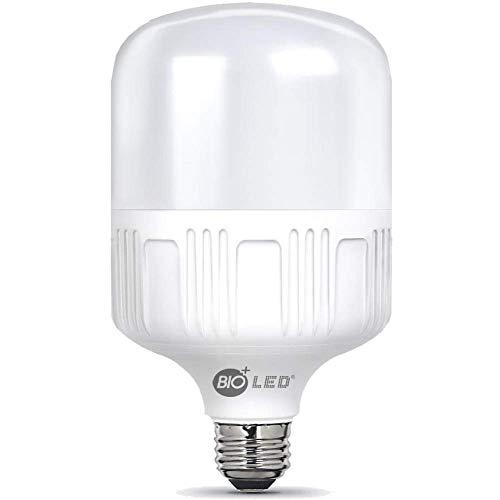 Bioled 20W, E27 LED Warmweiß 3200K, Ersetzt 200W, LED Birne, LED Lampe, 1850lm, Glühbirne, 6400K, LED Leuchtmittel, Feuchtigkeitsbeständig