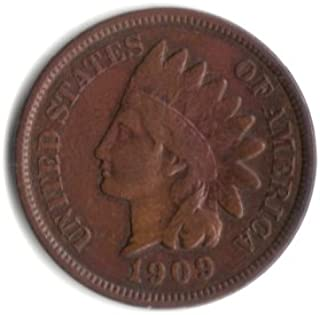 1909 U.S. Indian Head Cent / Penny Coin
