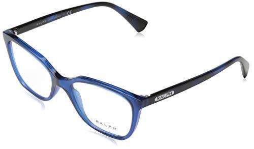 Ray-Ban 0RA7110 brilmontuur, bruin (transparant blauw), 52