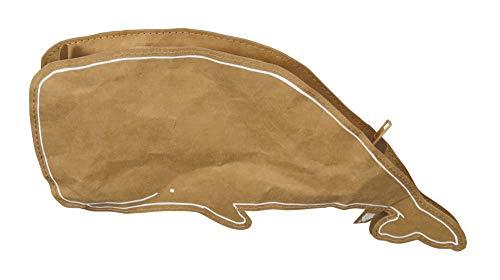 the ZOO Astuccio portamatite Wash Bag Balena in Carta 100% riciclabile Lavabile e Lavabile con...