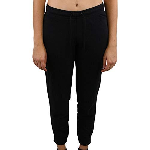 Nike Damen W NSW ESSNTL Pant Tight FLC Sport Trousers, Black/(White), XL