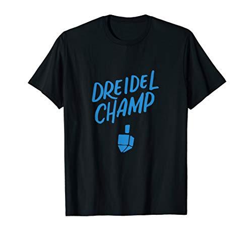 Dreidel Champ, Dreidel Champion Funny Hanukkah Chanukah Kids T-Shirt