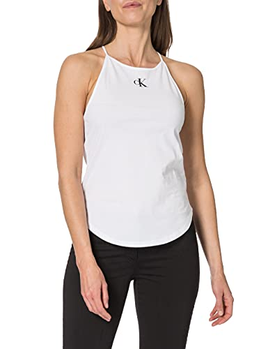 Calvin Klein Micro CK On Camisole Top Cuello extendido. para Mujer