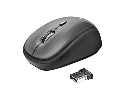 Trust 18519 Yvi draadloze optische draadloze muis (1600dpi, USB)