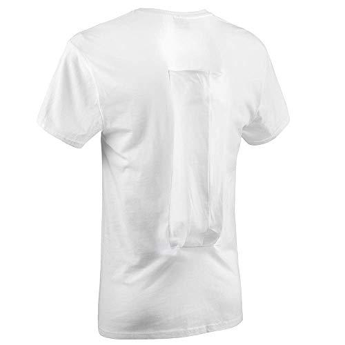 SomnoShirt Comfort Anti-Schnarch-Shirt - mit Luftkissen - bequem & effektiv (SomniShop Set) (S)