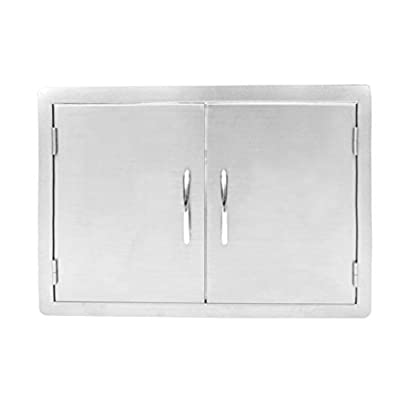 Stanbroil Outdoor Kitchen Stainless Steel Double Access Door, 36 Inches
