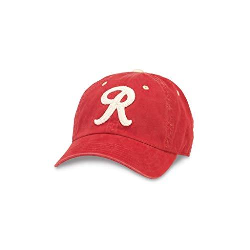 AMERICAN NEEDLE Archive MiLB Seattle Rainiers Baseball Dad Hat (44747B-SER-DKI)