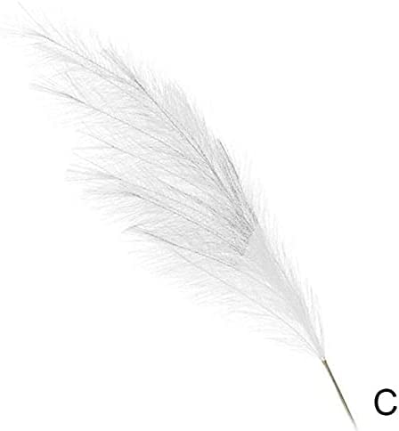 trend rank S-Center Chicago Mall 122cm Bulrush Natural Artificial Pampas Small Phr Grass