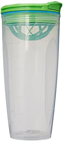 Sistema Shaket Shaker To Go Bottiglia, 700 ml, Colori Assortiti (variano in Base alla Confezione), 1 Pezzo, Plastic, Assorted, 700ml