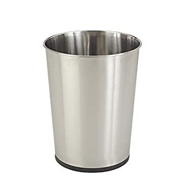 Bath Bliss Stainless Steel Trash Can 5-Litre By Perfect for Bathroom, Bedroom, Office and More