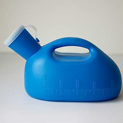 AUCO Urinale - MäNnliches Urinal MäNner Kammertopf Kind Urinal ÄLteres Bett Urinal Auslaufsicher Und Deodorant Erwachsenentopf 27 * 17 * 14 cm