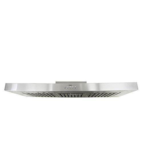 KOBE RAX2130SQB-1 Brillia 30-inch Under Cabinet Range Hood, 3-Speed, 750 CFM, LED Lights, Baffle Filters
