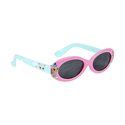 Shimmer et Shine - Gafas de sol con funda para niña, color rosa y azul, talla única (3 a 8 años)
