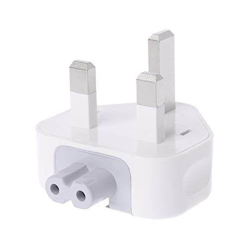 Sichuan New White UK AC Plug Power Charger Adapter For Apple iBook/MacBook ipad iPhone