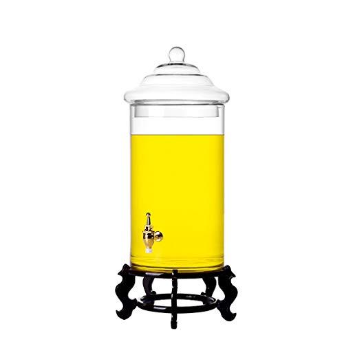 Dranken dispenser Verdikte Wijn Glas Fles Speciale Wijnfles Grote Capaciteit Gemedicineerde Wijnpot Met Kraan Tank Aantal Super Grote XINYALAMP
