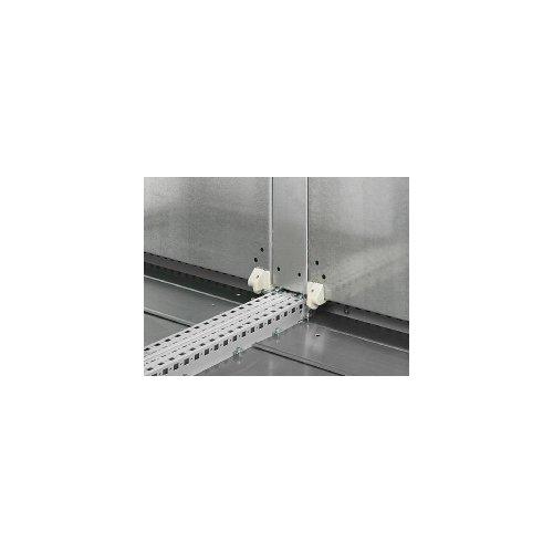Rittal 4590.700 - Regalzubehör (Rack plate, Silber, Stahl, TS 8, 1 Stück(e), 5,06 kg)