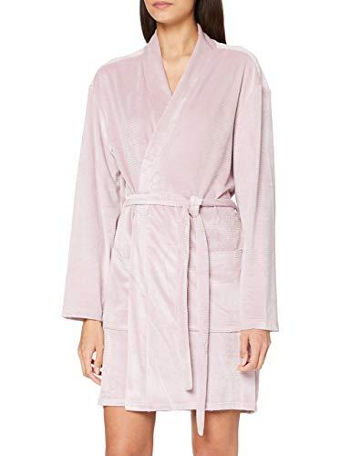 Calvin Klein Damen Quilted Robe Pyjamaset, Amnesie, XS-S