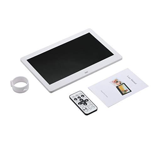 Sylvialuca afstandsbediening automatische cyclus LCD-breedbeeld HD geleid elektronisch fotoalbum digitale fotolijst wandmachine 10,1 inch