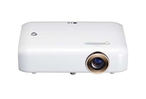 LG PH550 CineBeam LED Projector with Built-In Battery, Bluetooth Sound Out and Screen Share