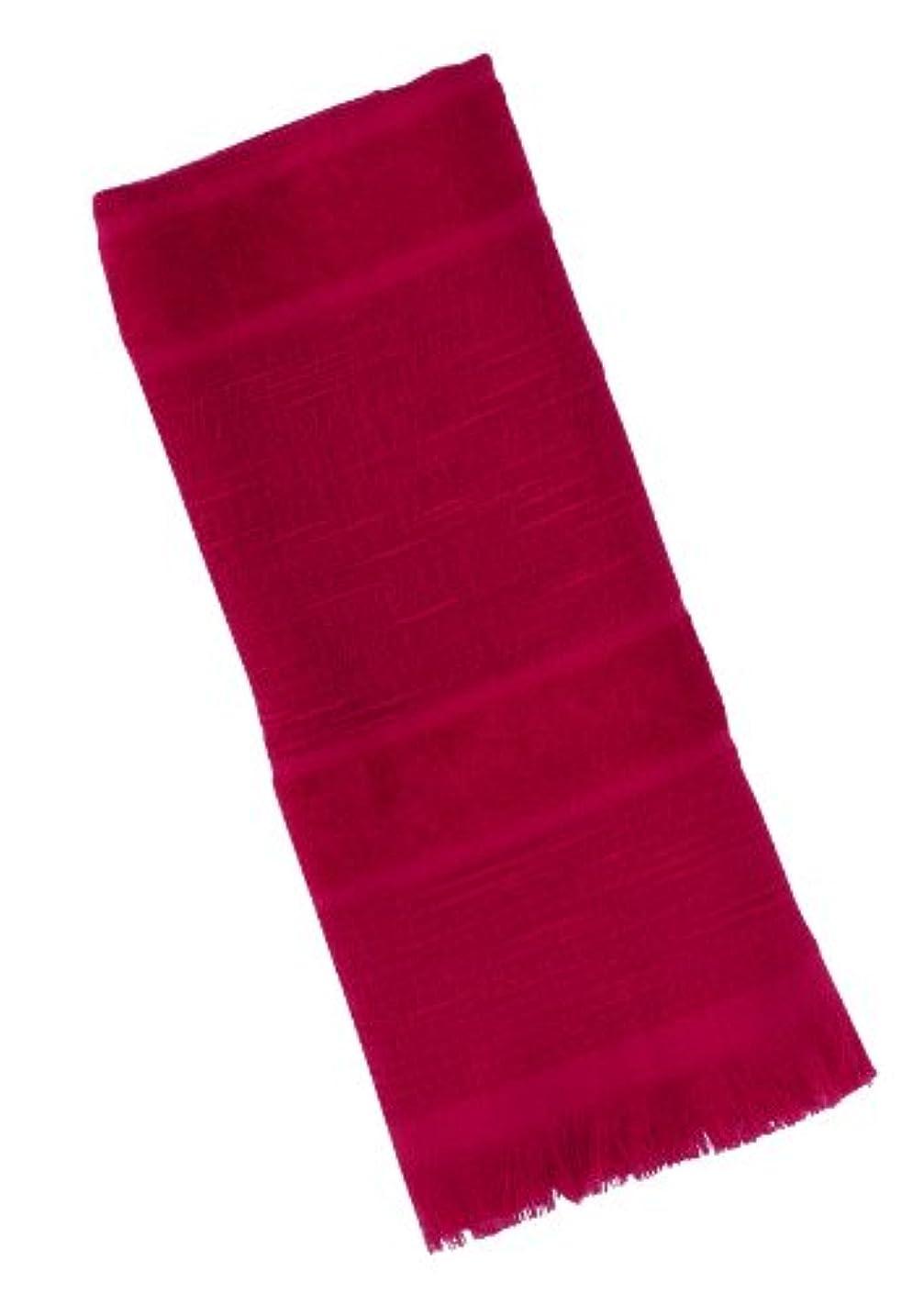 手段生き返らせる自動的に宮崎タオル いまばりマフラー70 オリジナルシリーズ No.6 ピンクレッド