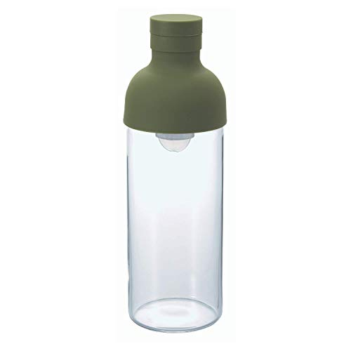 HARIO Froid Brew Filtre en Bouteille, Vert Olive, 300 ML