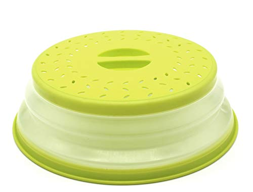 Coperchio per Microonde Coperchio Antischizzi per Microonde, senza BAP e atossico (verde)