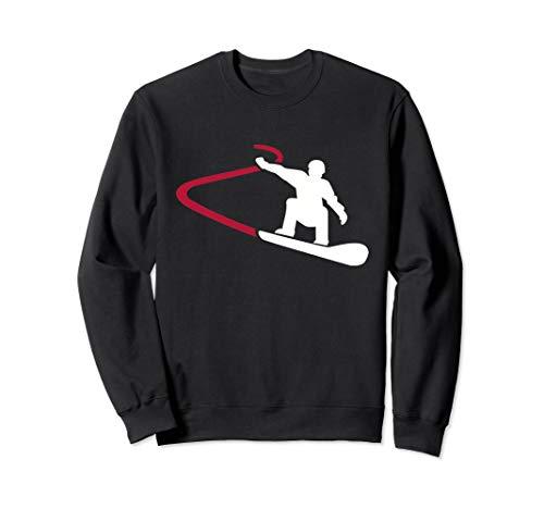Snowboard Rennen Sweatshirt