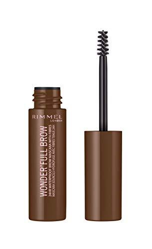 RIMMEL LONDON Wonder'Full Brow Mascara, 002 Medium Brown, 0.17 Fluid Ounce