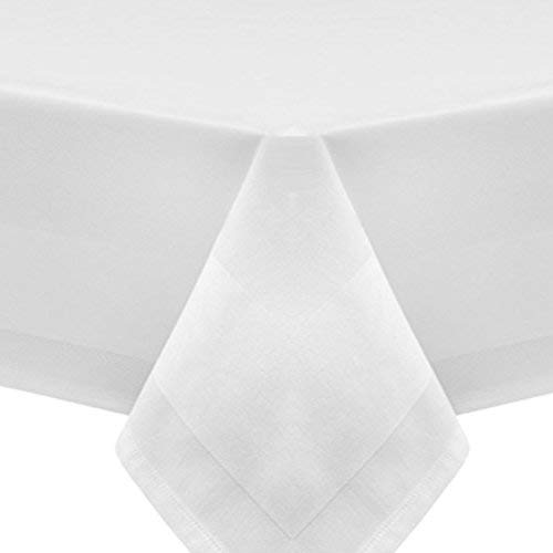 Tovaglia damascata, Bianco – 130 x 280 cm Catering – Made in Germany