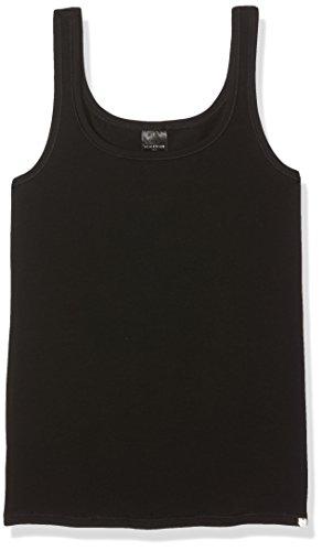 Schiesser 95/5 Top Camiseta, Negro (Schwarz 000), XS para Niñas