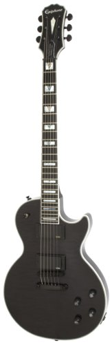 Epiphone Prophecy Les Paul Custom Plus EX Outfit (EMG 81/85), Midnight Ebony