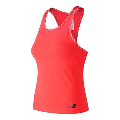New Balance Tournament Camiseta de Tirantes para Mujer,...
