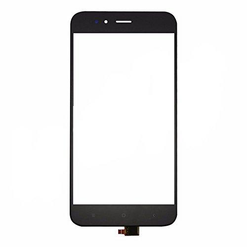 ownstyle4you - Glass Vetro Touch di Ricambio per Schermo LCD per Xiaomi Mi A1 - Nero/Vetro Frontale con Digitizer per Display Assembly Touchscreen