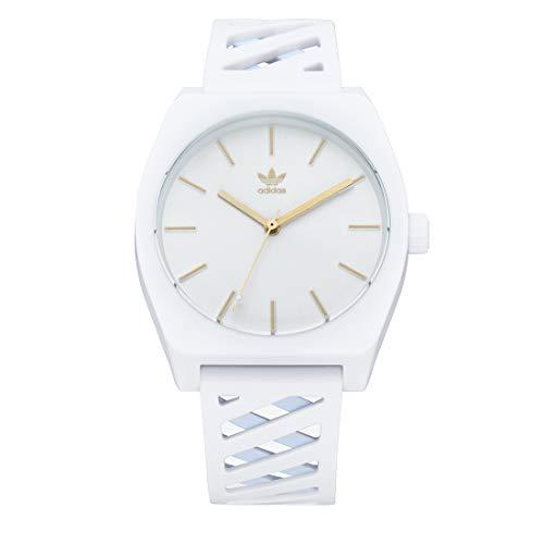 Adidas Unisex Analog Japanischer Quarz Uhr mit Silicone Armband Z25-3339-00