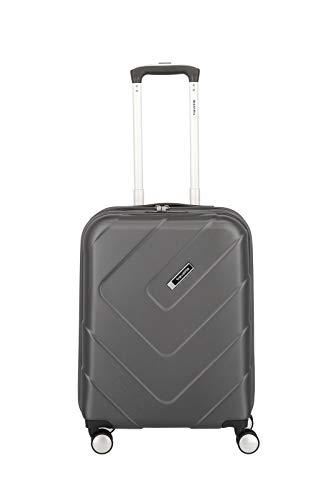 """Travelite Hartschalen-Koffer-Serie """"KALISTO"""" von travelite in 4 Farben: topmodisch, elegant, robust, 55 cm, 40L, Anthrazit"""