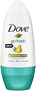 Dove Women Antiperspirant Roll On Deodorant Go Fresh Pear & Aloe Vera, 50ml
