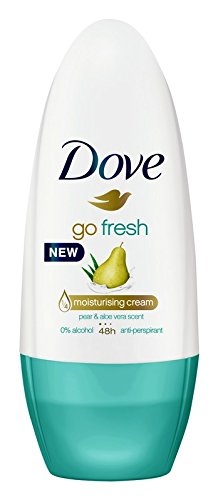 Dove Women Antiperspirant Roll On Deodorant Go Fresh Pear & Aloe Vera, 50ml
