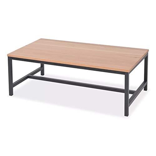 ZHUSHI Couchtisch Moderner Eschen-Holztisch Für Wohnzimmer Haushaltsmöbel Beistelltisch Mode 100x55x36cm
