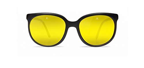 VUARNET Sonnenbrillen (VL-0002 0035-8184) schwarz matt - gelbfarben