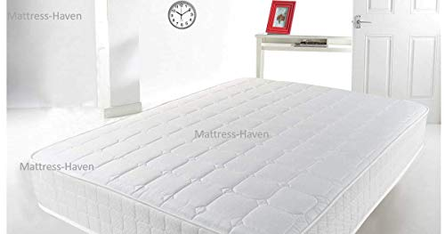Mattress-Haven Quality Pocket Sprung Memory Foam Mattress - 2000 Pocket Springs - Medium3FT - Single