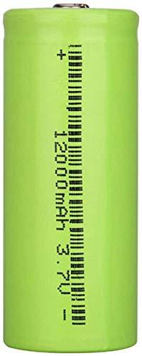 26650 batería Li-Ion batería Recargable 3,7 v 12000 mah batería Recargable para Linterna Led Powerbank-PC 1