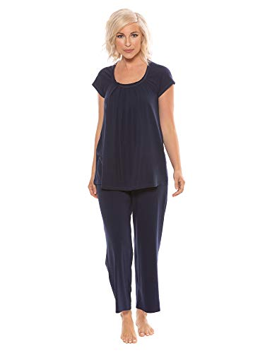 Product Image of the Women's Pajamas in Bamboo Viscose (Bamboo Bliss) Cozy Sleepwear Set by Texere