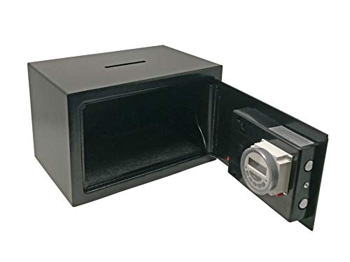 Timerslot Safe kluis met inwerpgleuf (alleen batterij)