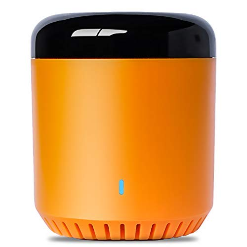B BestCon Compatible con Broadlink New Orange Bean RM Mini 3 All-in-One IR 38K Universal WiFi Home Hub con control remoto IR para aprender el mando a distancia universal compatible con Alexa