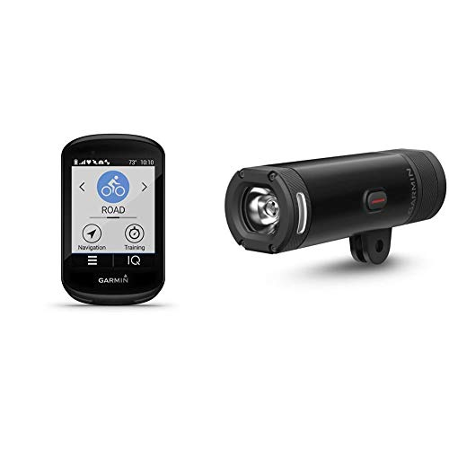 Garmin Edge 830, Performance GPS Cycling/Bike Computer with Mapping, Dynamic Performance Monitoring and Popularity Routing & Varia UT 800 Smart Headlight Urban Edition with Dual Out-Front Mount