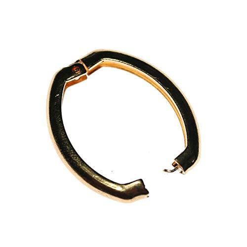Kettenverkürzer 1 Stück in goldeteten Farbton nickelfrei Größe ist B 20 H 26 Stärke 04 mm