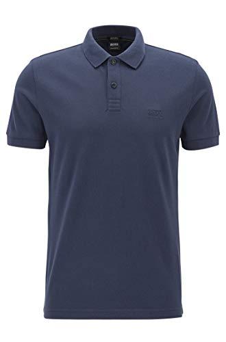 Hugo Boss Men's Polo Shirt (L, Black)